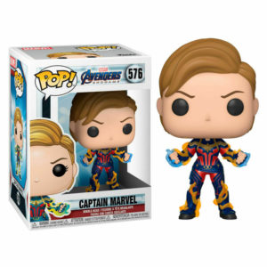 Funko POP Capitana Marvel (Pelo corto)