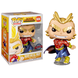 Funko POP All Might (Silver Age) – Ed. Metálico