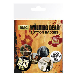 Set de chapas The Walking Dead