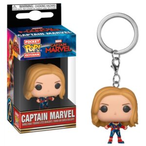 Llavero POP Pocket Capitana Marvel