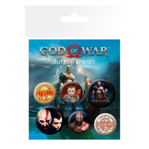 Set de chapas God of war