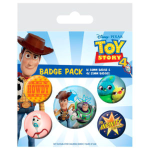 Set de chapas Toy Story