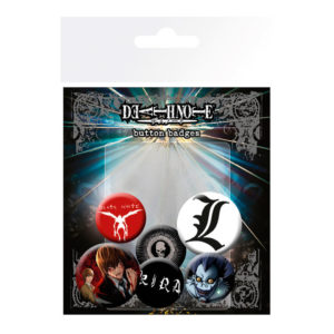 Set de chapas Death Note