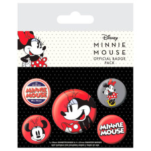 Set de chapas Minnie Mouse