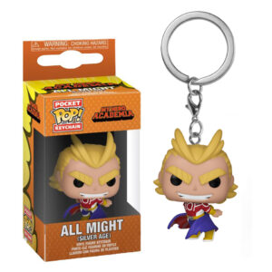 Llavero POP Pocket All Might (Silver age)
