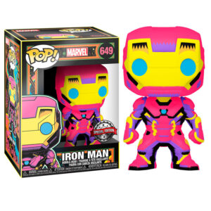 Funko POP Iron man Black Light