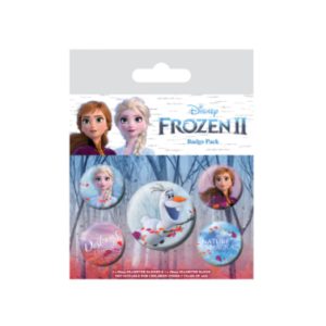 Set de chapas Frozen