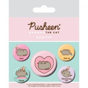 Set de chapas Pusheen the cat