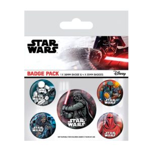 Set de chapas Star Wars