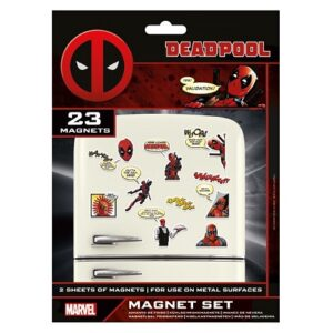 Set de imanes Deadpool