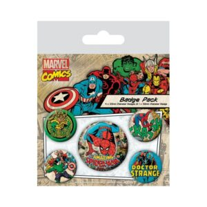 Set de chapas Marvel: Spiderman