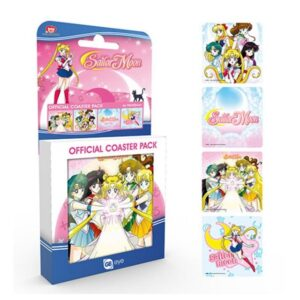 Set de posavasos Sailor Moon