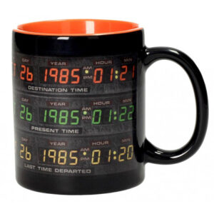 Taza panel de control DeLorean